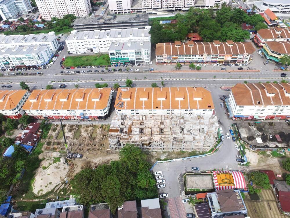 Aerial view (November 2017)
